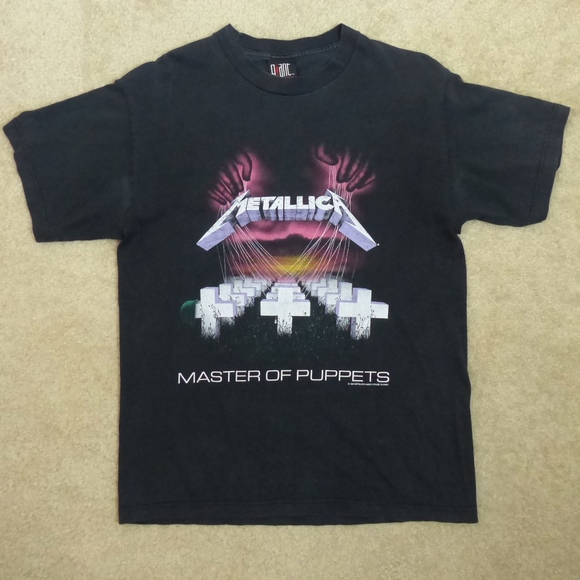 4ee20d069224 Giant Other - Metallica Giant VTG 1994 Master of Puppets Shirt